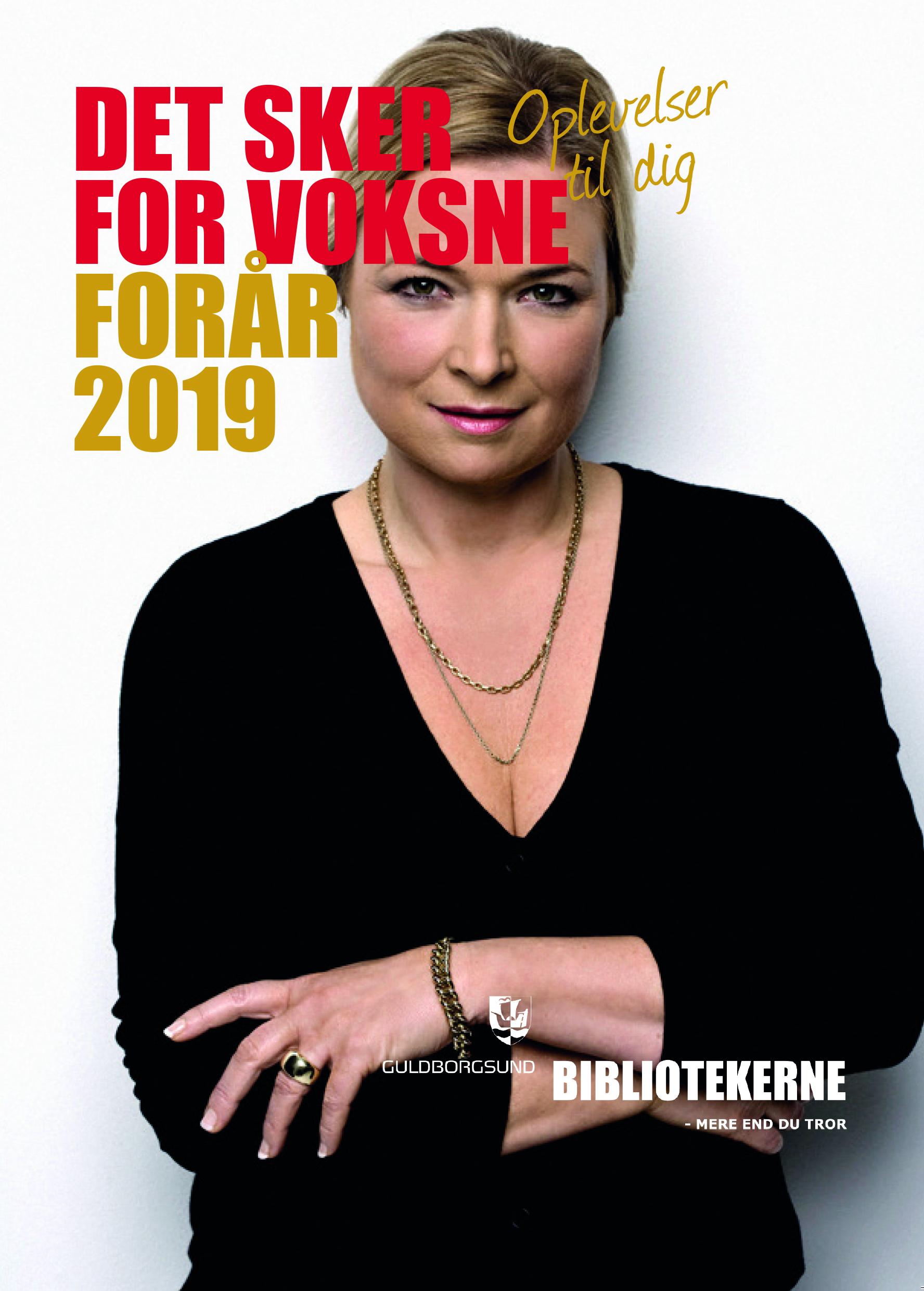 Guldborgsund-bibliotekernes unge og voksenprogram for foråret 2019
