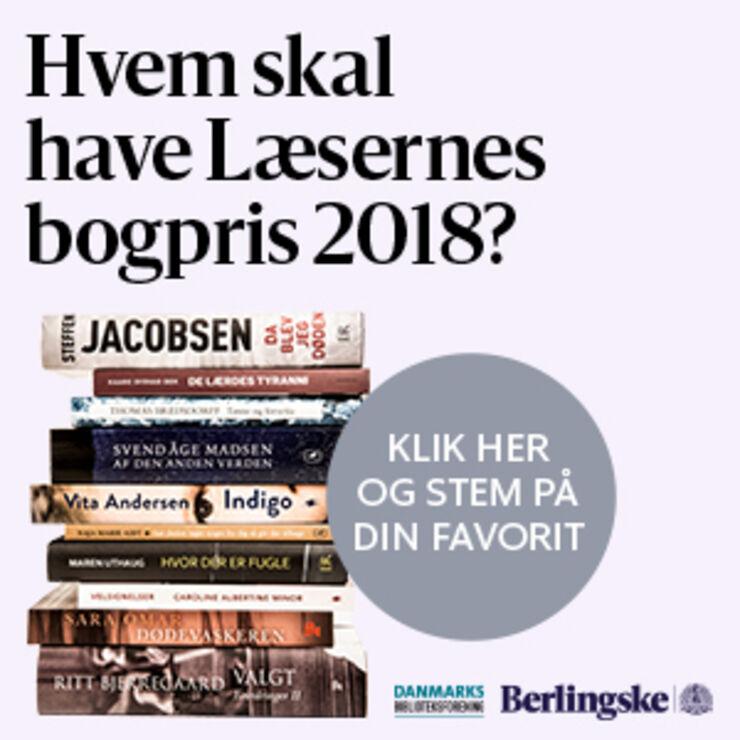 Hvem fortjener Læsernes Bogpris 2018?