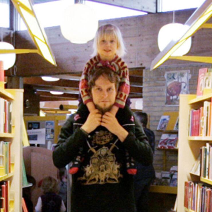 Åbent bibliotek på Hovedbiblioteket