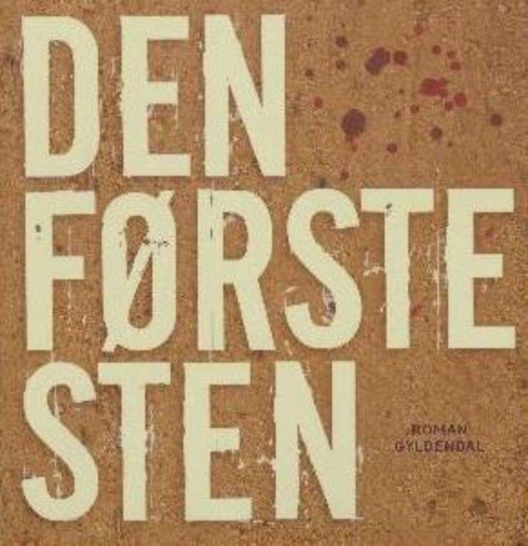 Illustration - Forside til Den første Sten af Carsten Jensen