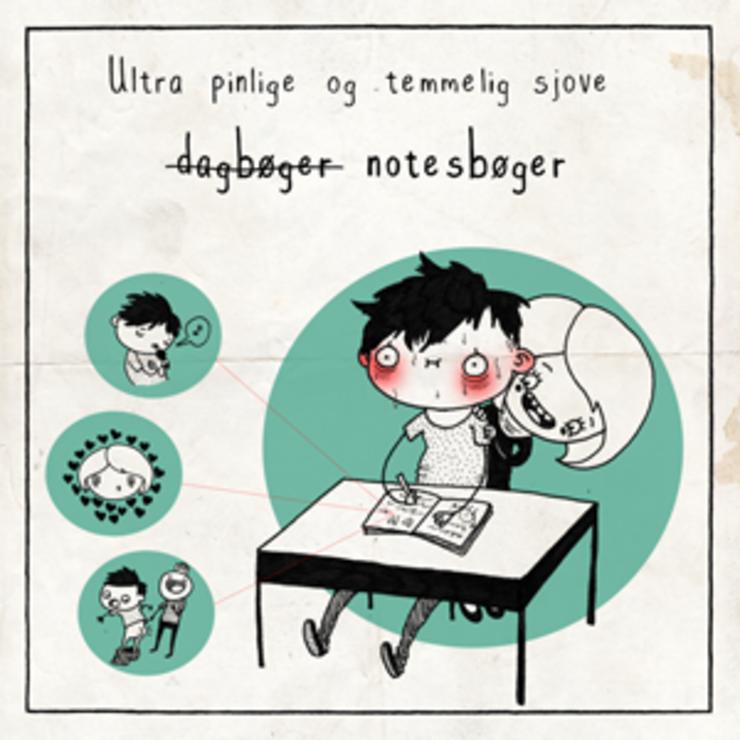 Emneliste om sjove og pinlige notesbøger