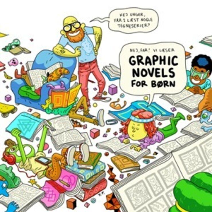 Illustration - Emnelisten Graphic Novels