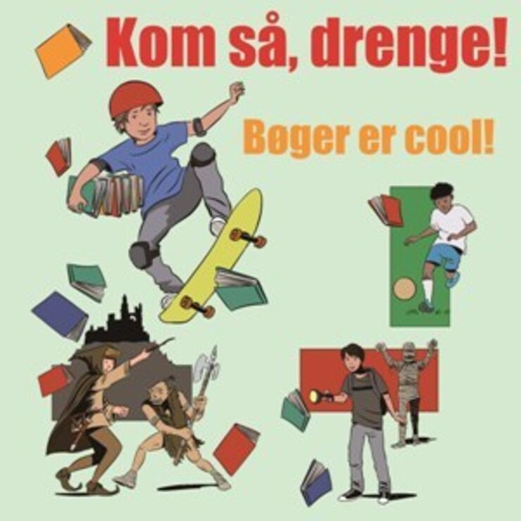 "Illustration - Emnelisten ""Kom så drenge!"""