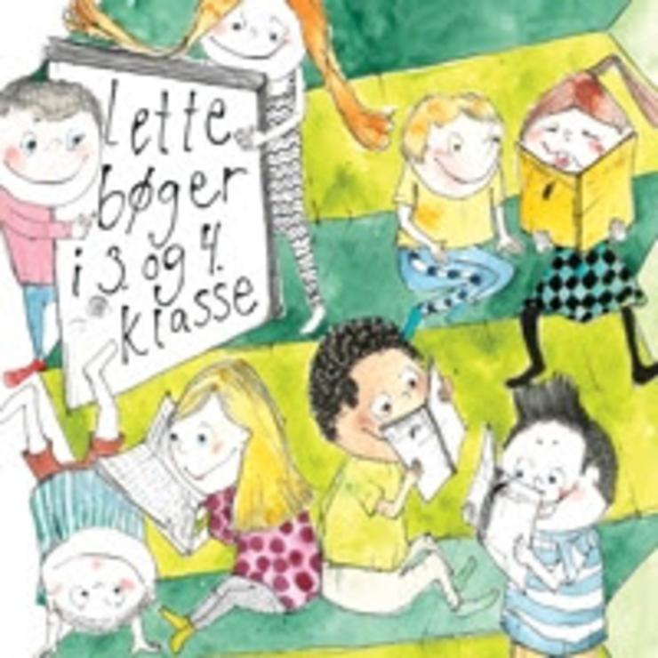 Illustration - Emnelisten Lette Bøger 3. - 4. klasse