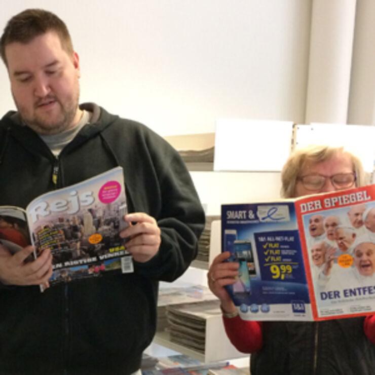Salg af kasserede magasiner