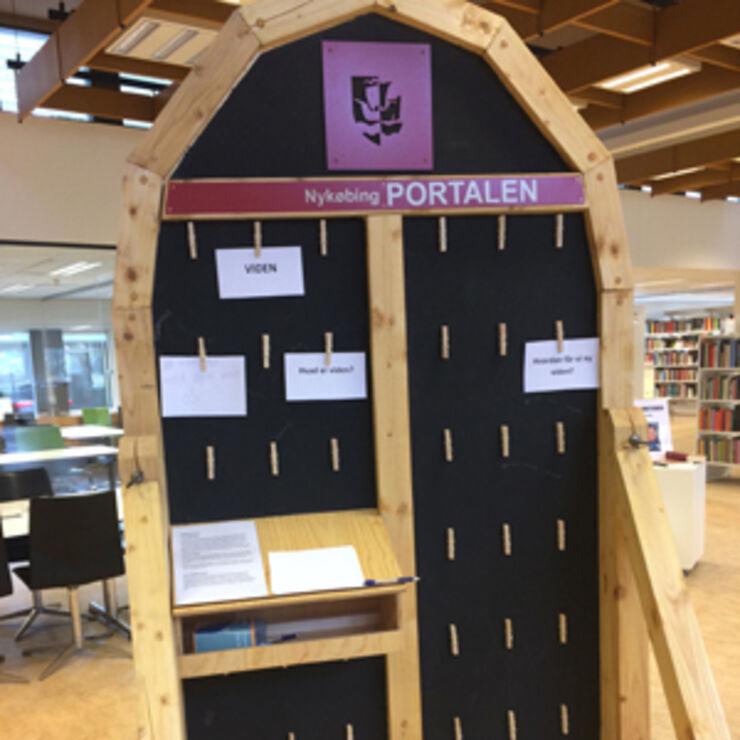 Nykøbing Portalen på Hovedbiblioteket