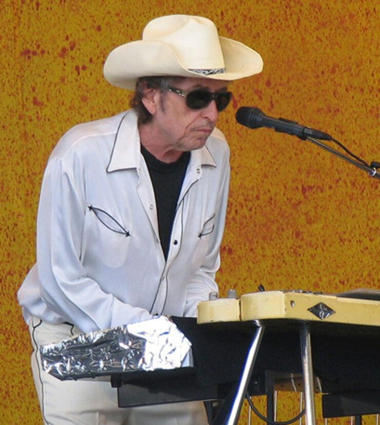 Foto af Bob Dylan
