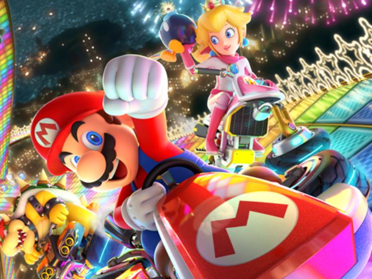 Falster Grand Prix i Mario Kart