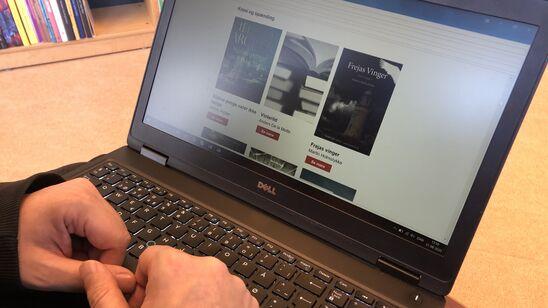 Tilmeld dig nyhedsbrevet Nyt på hylderne og få info om de nyeste materialer i din indbakke