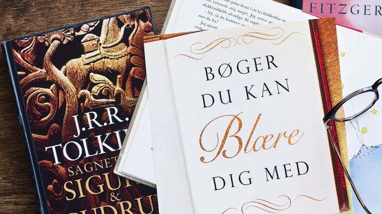 """Se oversigten over nogle af verdenshistoriens mest blærede bøger i emnelisten """"Bøger du kan blære dig med"""""""