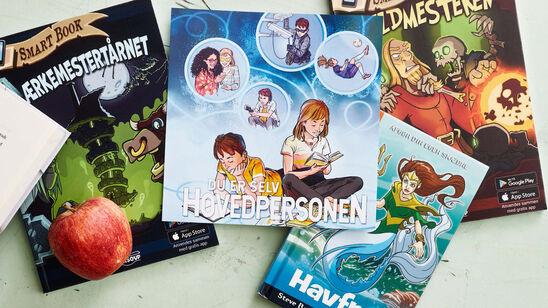 """Læseinspiration til """"Du er selv hovedpersonen""""-bøger for de 8 til 16årige"""