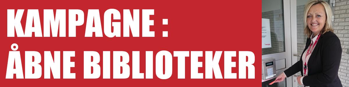 Åbne biblioteker kampagne