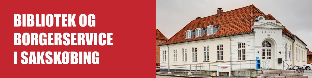 Bibliotek og Borgerservice flytter sammen i Sakskøbing