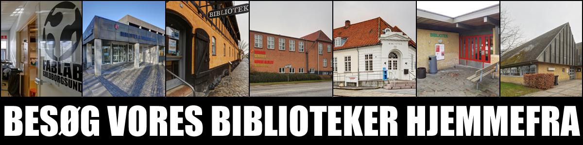 Besøg alle vores biblioteker virtuelt