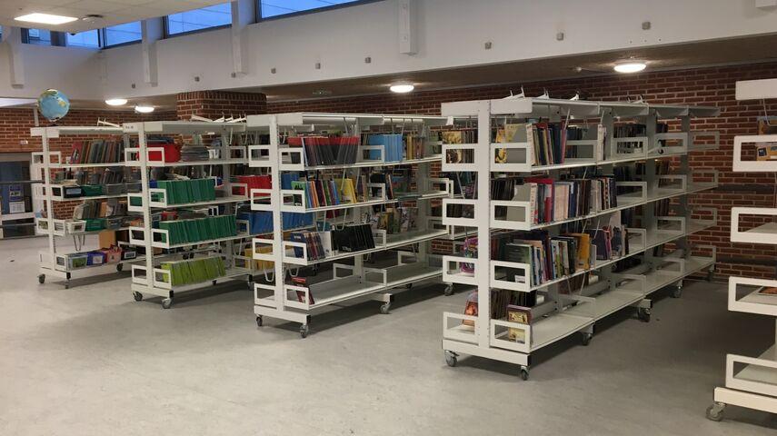 Væggerløse Bibliotek på Sydfalster Skole