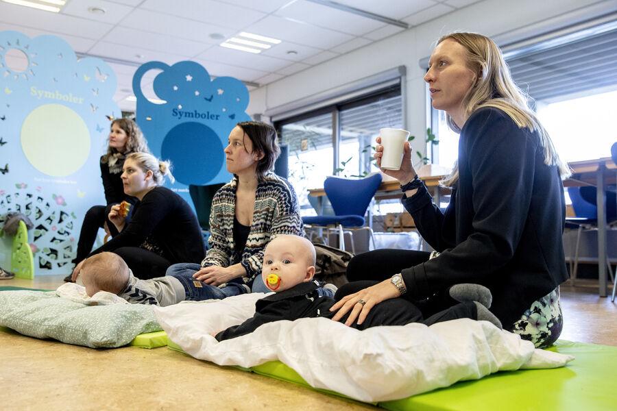 Åbent hus for dig og din baby er for babyer fra 0 til 1 år