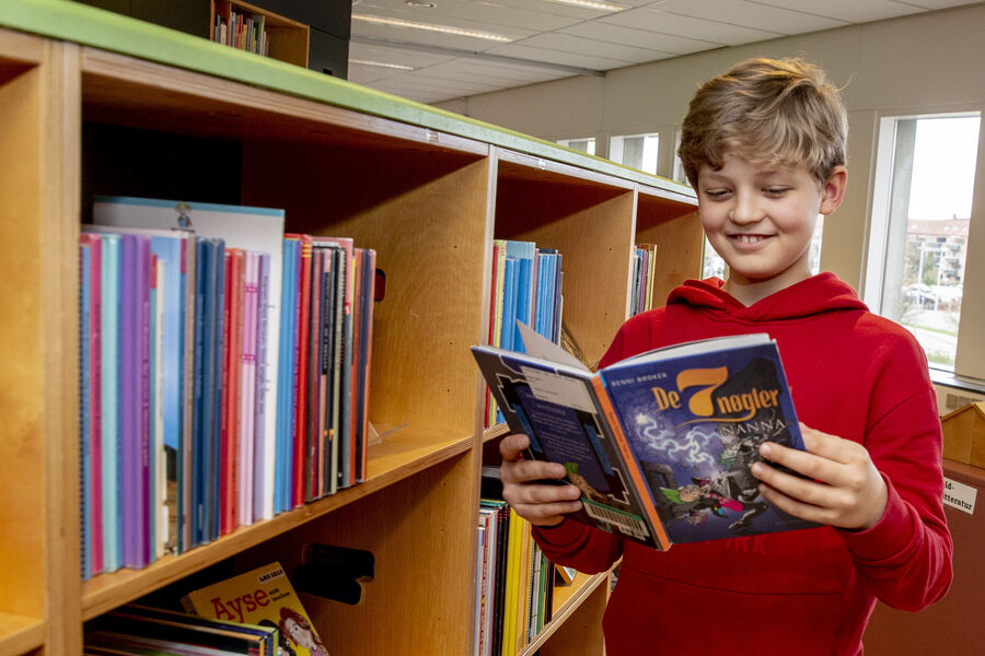 Læsekampagnen Sommerbogen er for børn og unge mellem 7 og 14 år