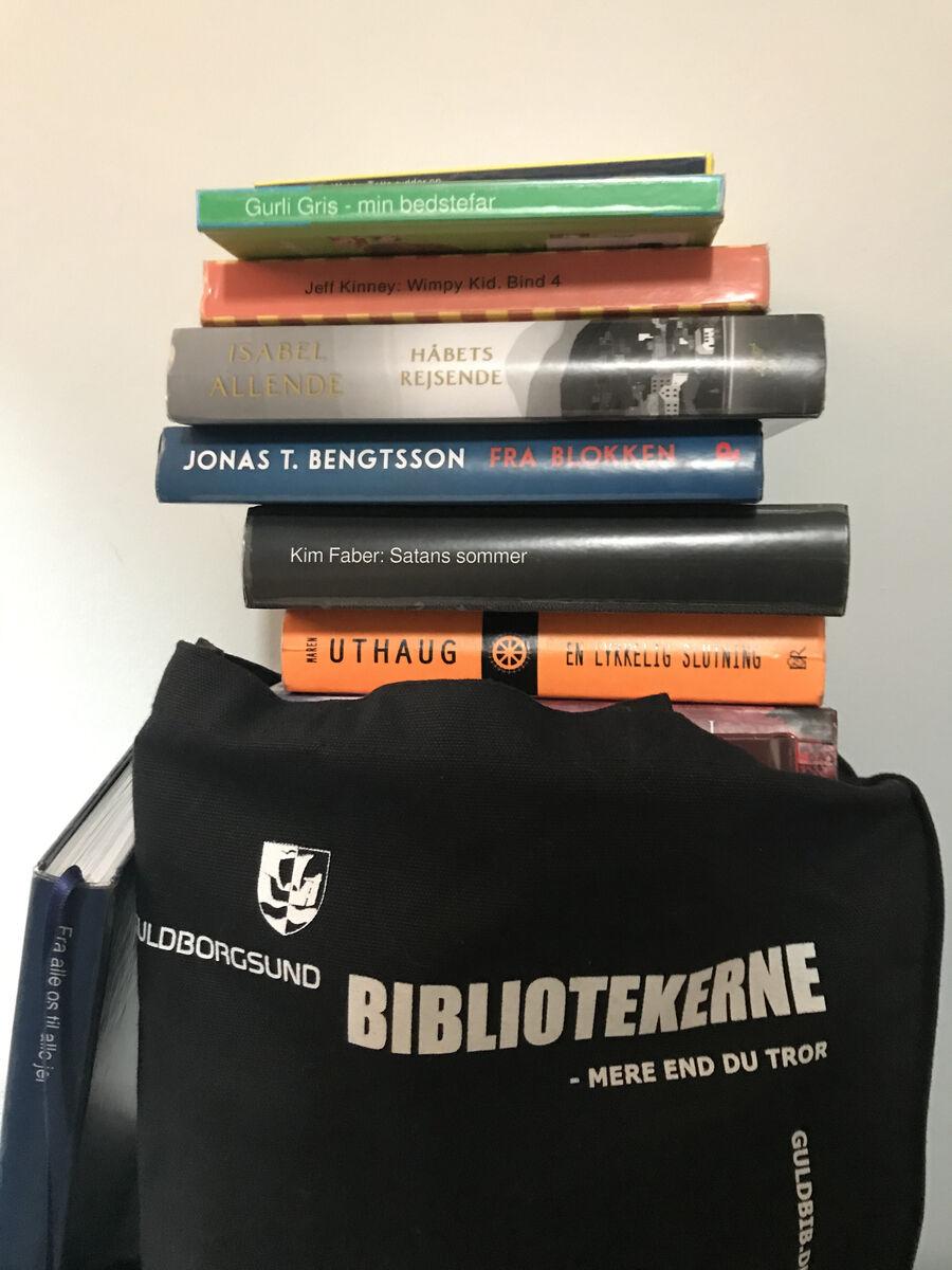 Bunke af bøger