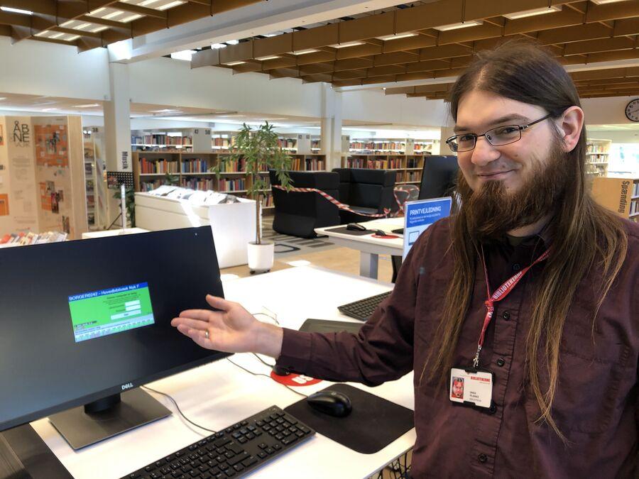 Fremover skal du logge ind på pc'erne på biblioteket