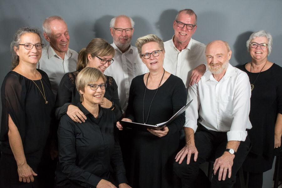 Gruppebillede af Det Voxne Kammerkor