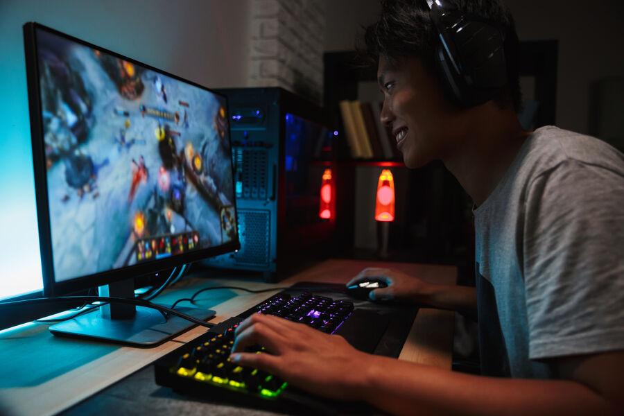 Dreng der gamer