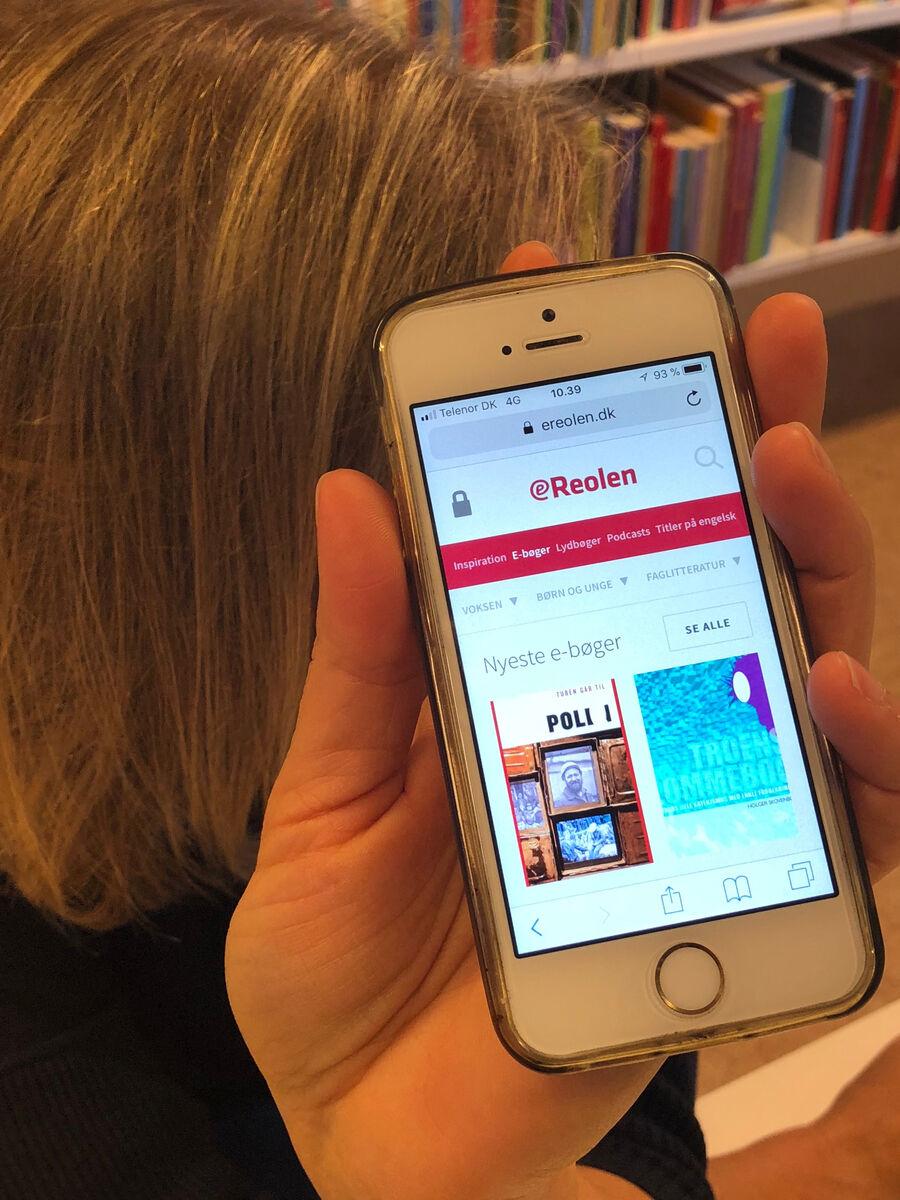 Biblioteket oplever stor stigning i udlån af netlydbøger og e-bøger på eReolen