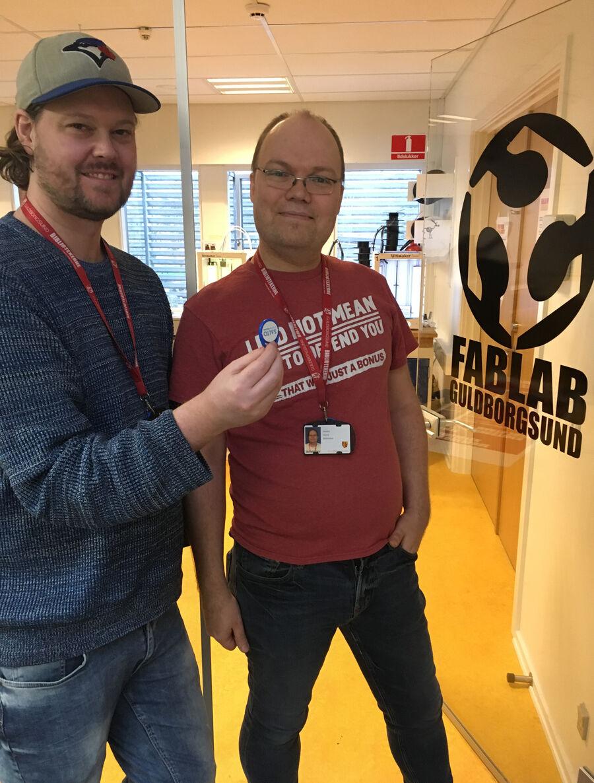 Anders P og Anders H fra FabLabteamet afholdt i sidste uge FabLabstermøde. Her fortalte de om muligheden for at blive nøglebruger og lyttede til fablabsternes ideer og ønsker.