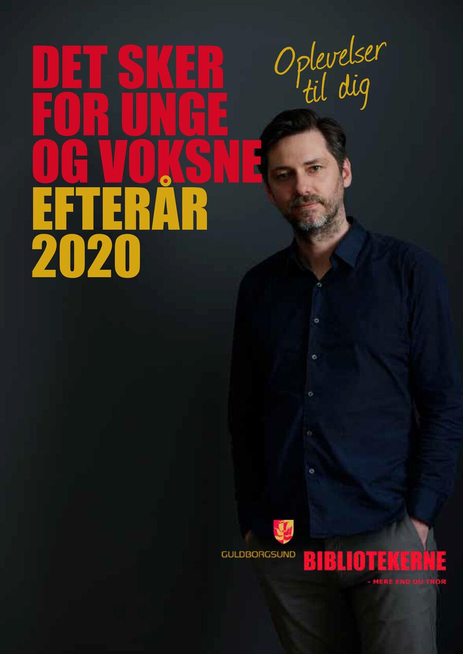 Arrangementsprogrammet for efteråret 2020 er kommet