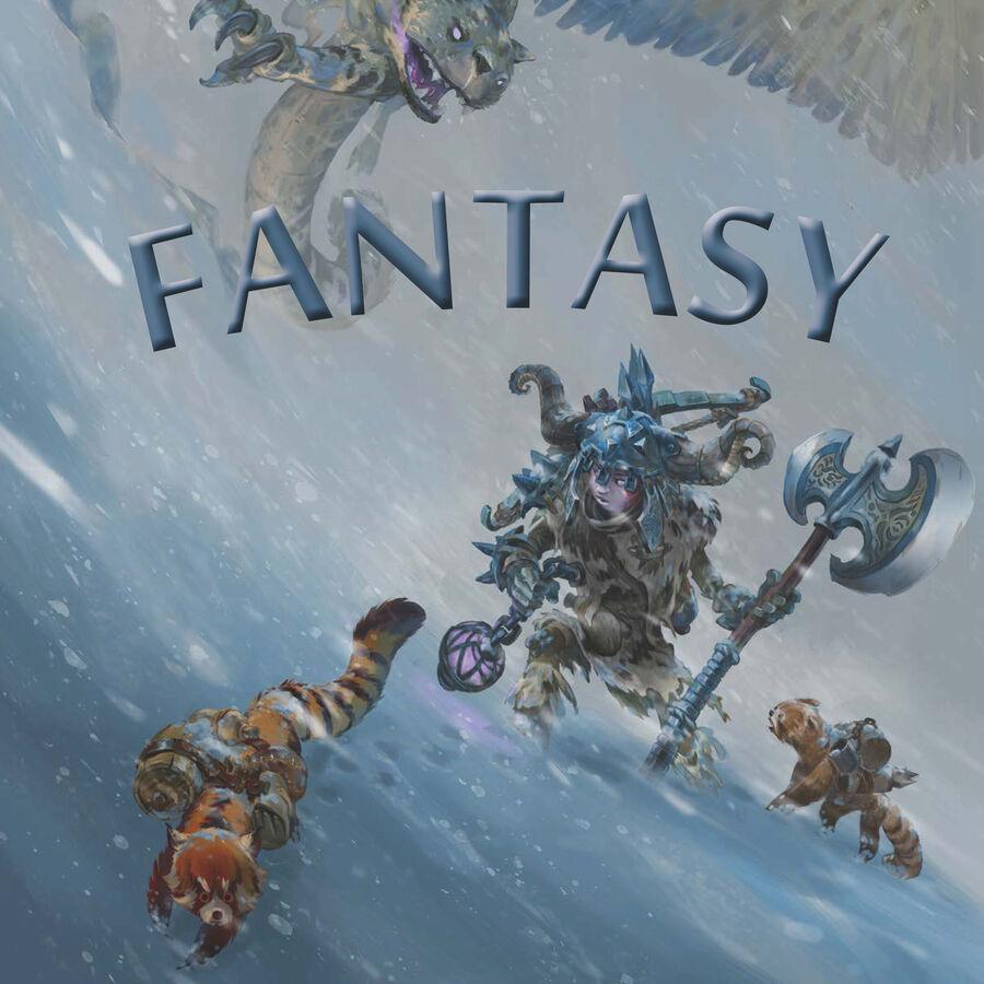 Få inspiration til bøger inden for genren fantasy i september måneds emneliste
