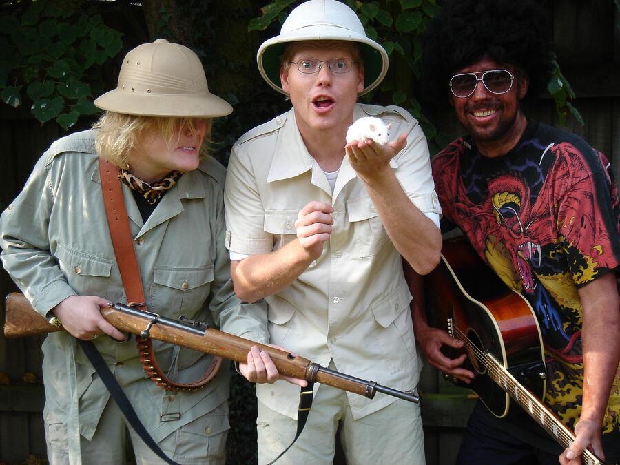 Oplev Sebastian Klein og hans skøre safarishow
