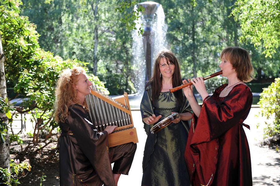Middelalderensemblet Giòia spiller skønne toner fra Middelalderen.