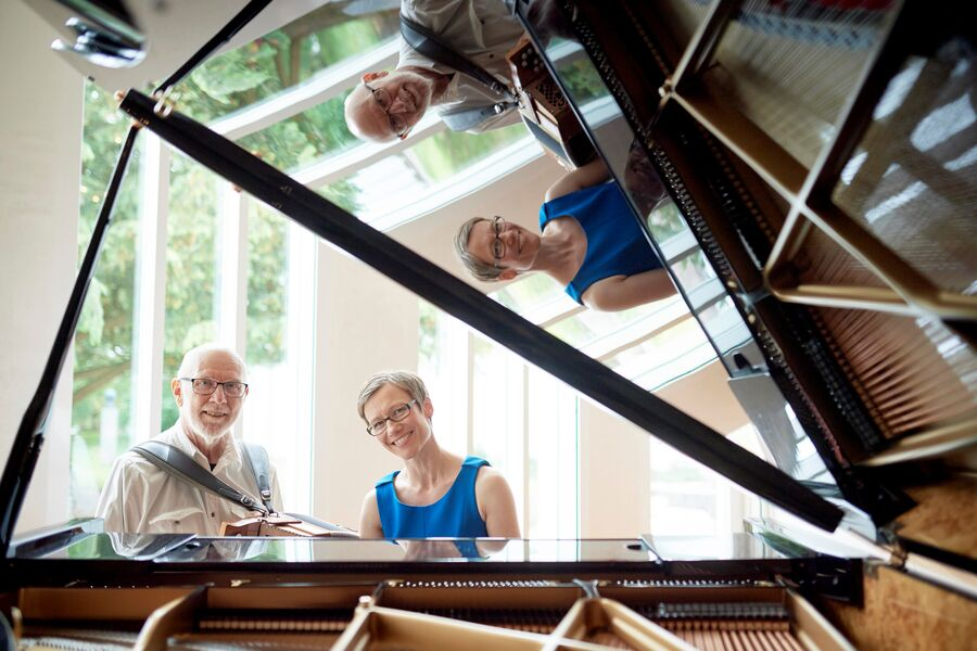 Koncert med Carl Erik Lundgaard og Charlotte Støjberg til hyldest af Inger Christensen