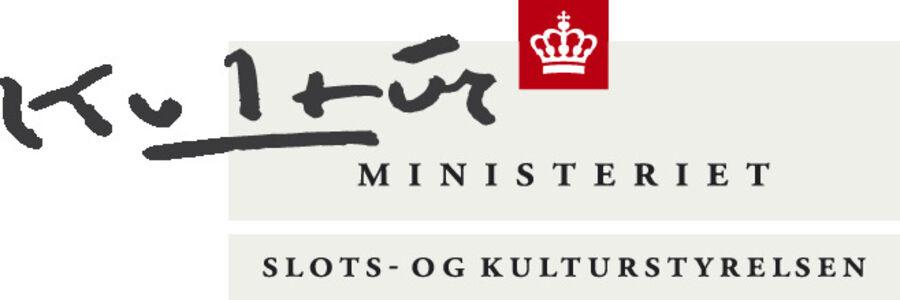 Projektet Det Åbne Værk er støttet af Slots- og Kulturstyrelsen
