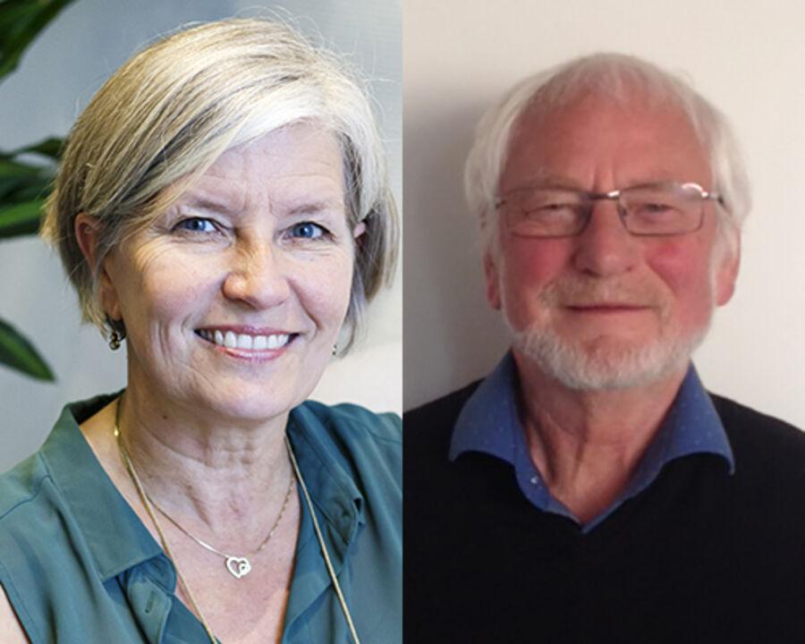 Ord på biblioteket med Lene og Carsten