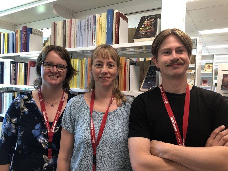 Kom til bogcafé med vinsmagning på Hovedbiblioteket