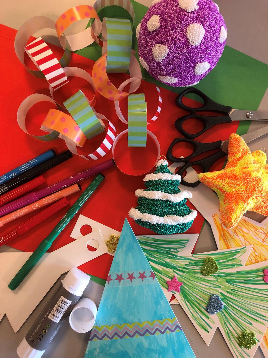 Hyggeligt juleværksted for børn i alle aldre