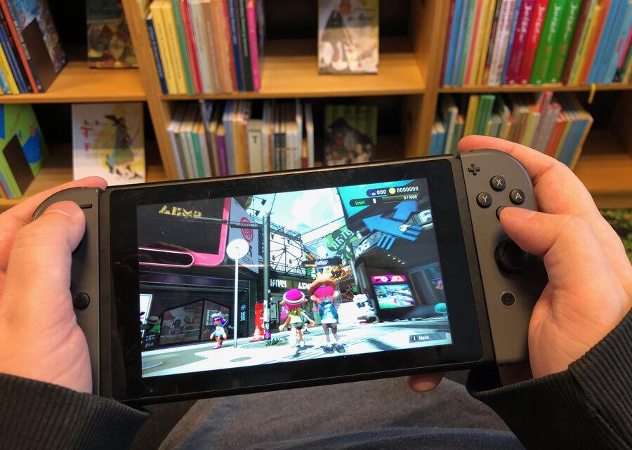 Nordic Game Week på Hovedbiblioteket med Nintendo Switch og brætspil