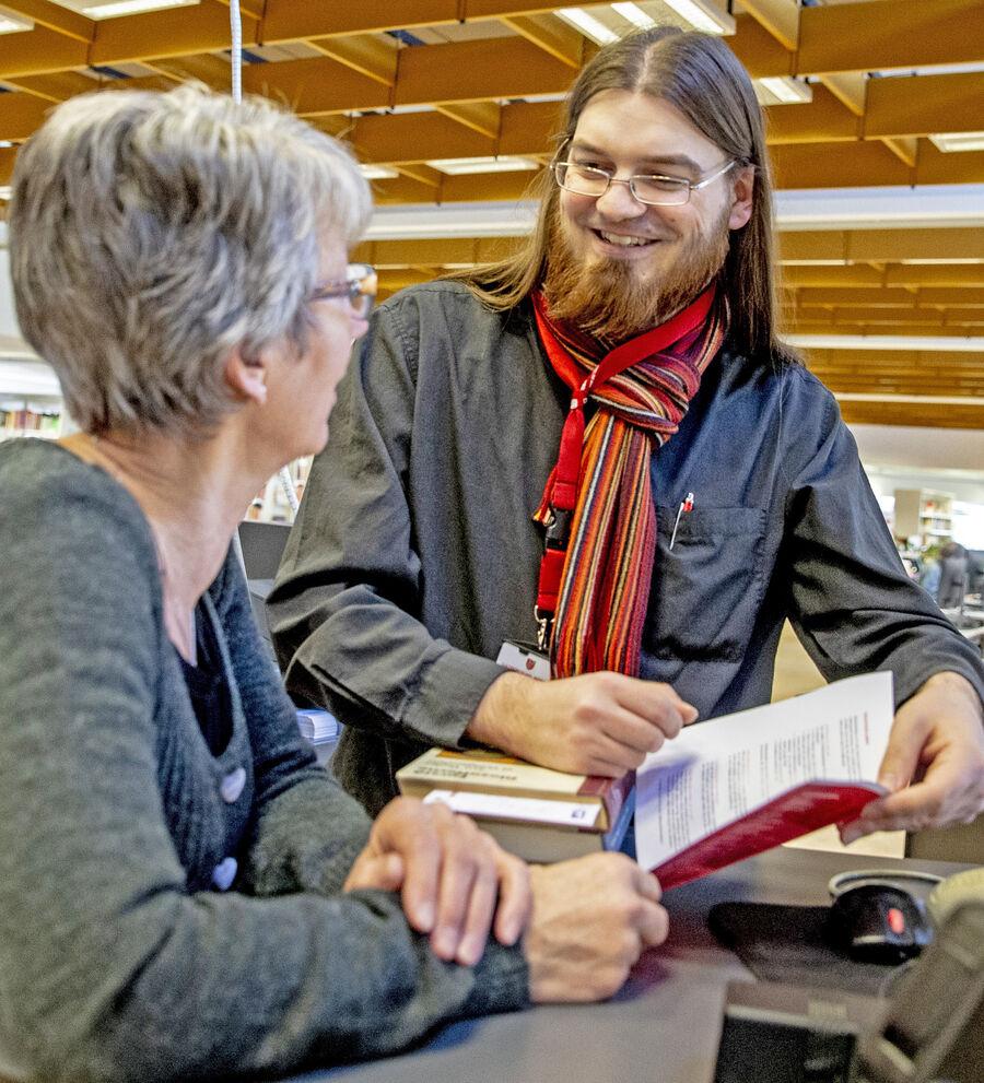 2. marts 2020 får lokalbibliotekerne nye betjeningstider