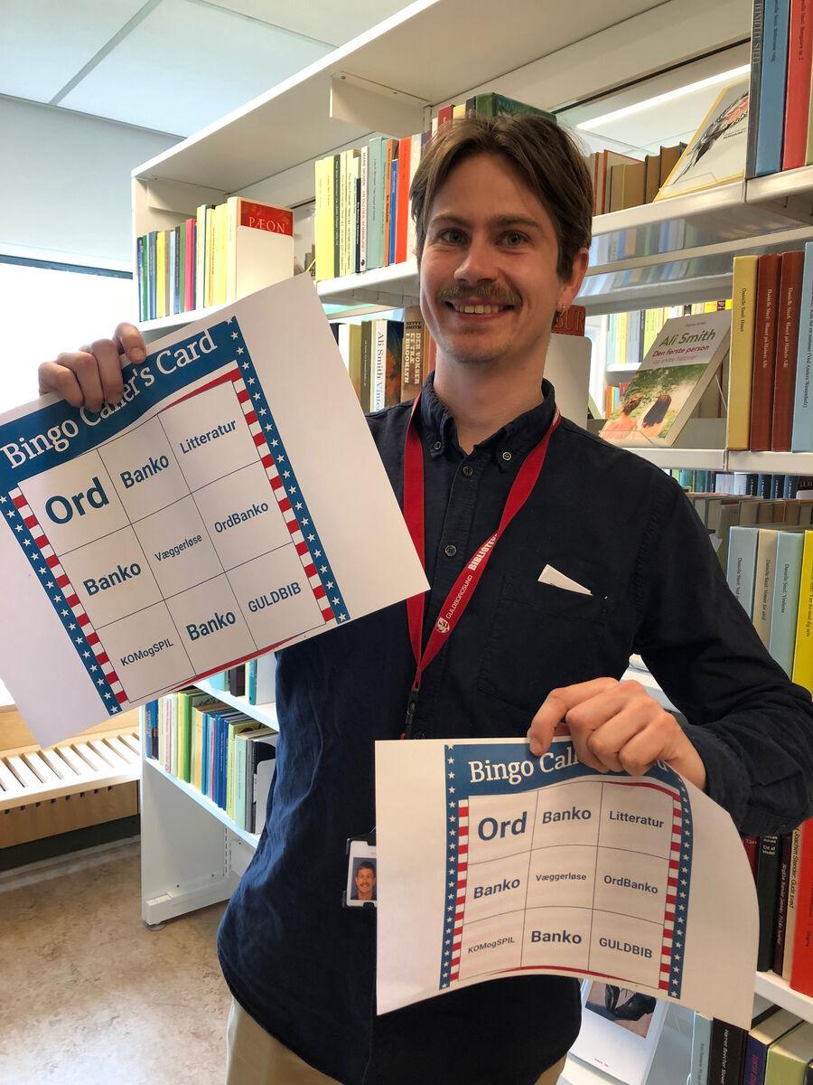Kom med til Ordbanko på Væggerløse Bibliotek