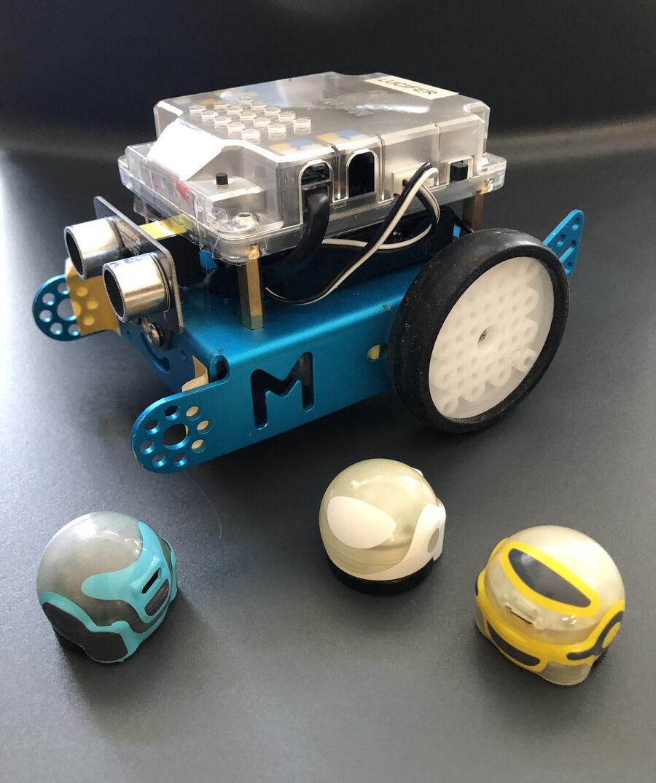 Giv den gas med alle vores robotter i FabLab til arrangementet RobotAmok