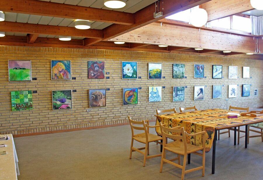 ART Nordfalster udstiller deres værker