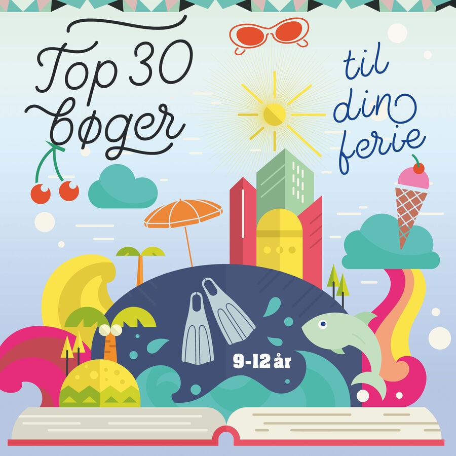 30 bøger til din ferie