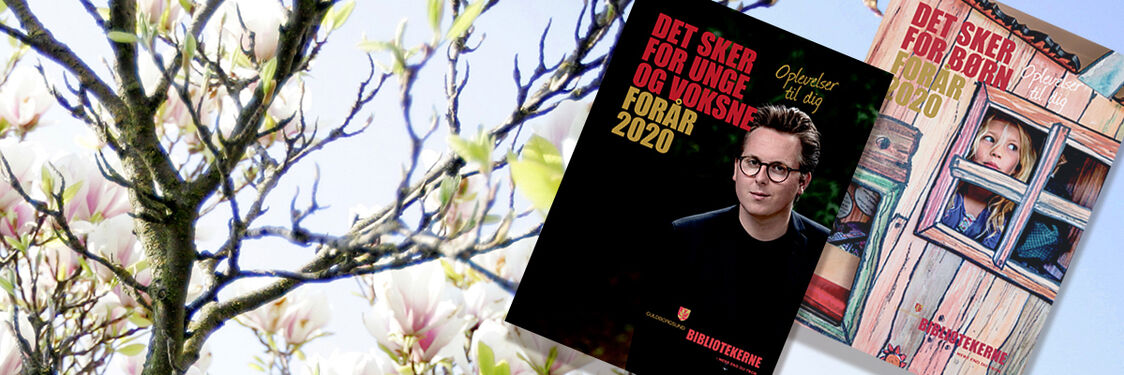 Se bibliotekets program for foråret 2020