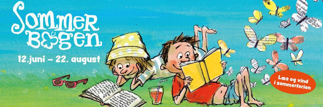 Igen i år kan børn og unge deltage i læsekampagnen Sommerbogen